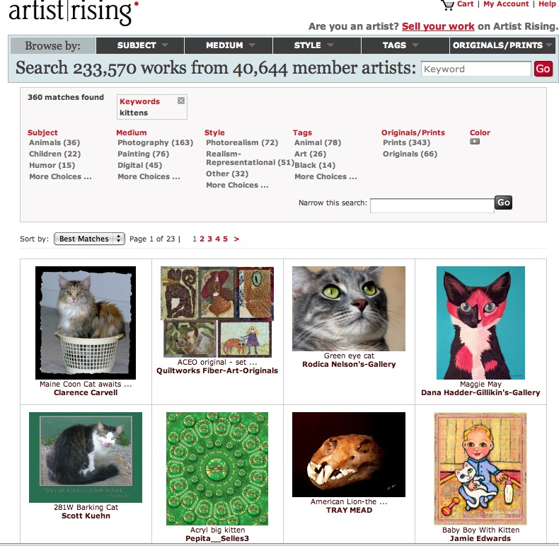 results of kittens a artistrising.com