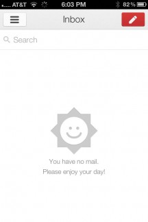 gmail iphone app screenshot