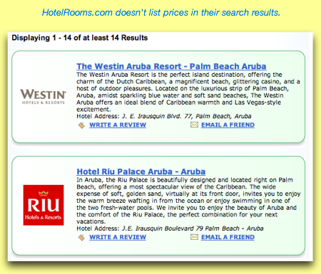 HotelRooms.com Search Results