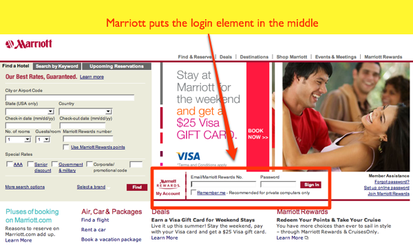 Marriott Home Page