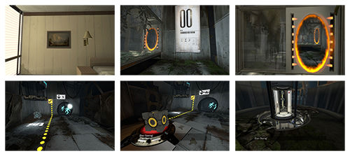 Portal offers a safe environment for players to figure out the controls while advancing in the game.